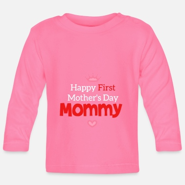 Day Happy Mothers Day Mutter Tag Muttertag Geschenk - Baby Langarmshirt