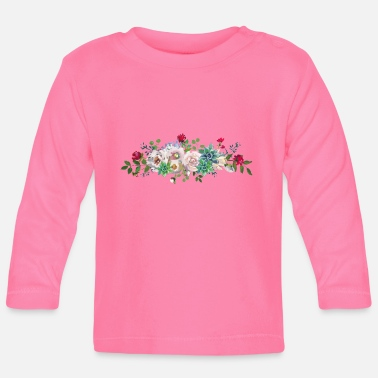 Floral Floral - Baby Longsleeve Shirt