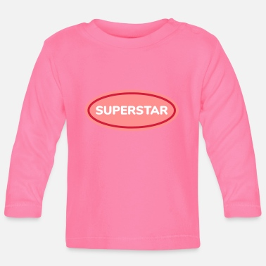 Superstar superstar - T-shirt manches longues Bébé
