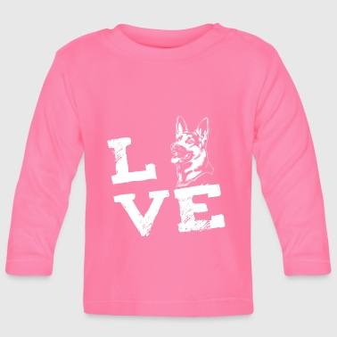 LOVE - German Shepherd - German Shepherd - Baby Long Sleeve T-Shirt
