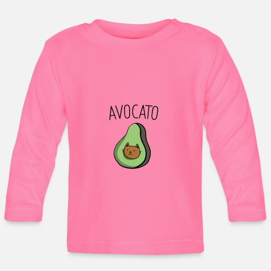 Gift Idea Baby Clothes - avocado - Baby Longsleeve Shirt azalea