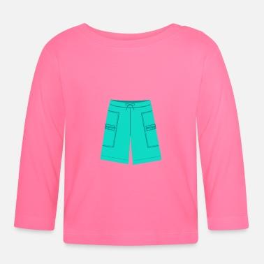 Badbyxor Baddräkter Badbyxor Badkläder Badbyxor - Långärmad baby T-shirt 16818d7cad49d