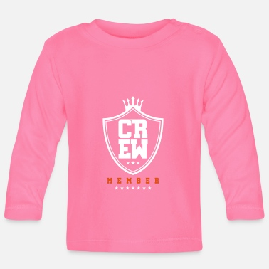 Crown crew member coat of arms - Baby Longsleeve Shirt
