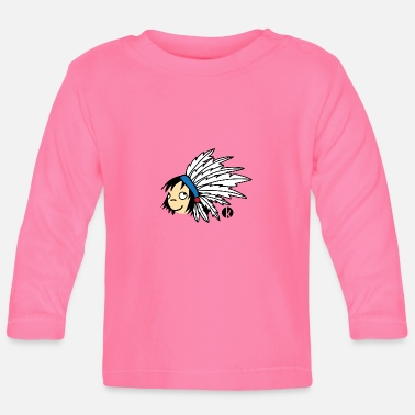 Indians - Indian boy - Baby Long Sleeve T-Shirt