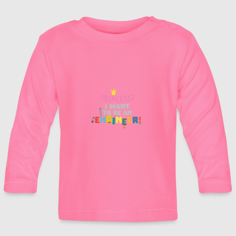 Prinses die i wanna be een Engnineer S2yb2 - T-shirt