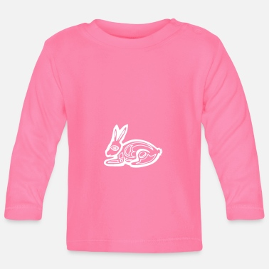 Graphic Art Bunny bunny graphic art - Baby Longsleeve Shirt