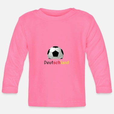 World Football World Cup World Cup Gift Germany - Baby Long Sleeve T-Shirt