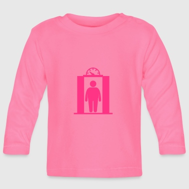 fat elevator man - Baby Long Sleeve T-Shirt