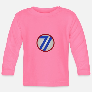 Infantry US 71st Infantry Division - Baby Long Sleeve T-Shirt