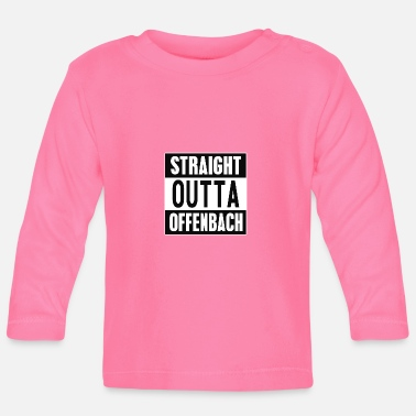 2pac Straight outta Offenbach - Baby Langarmshirt