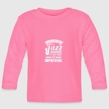 jazz - Baby Long Sleeve T-Shirt