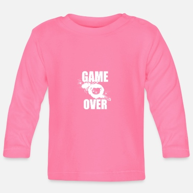 Gamer Gamer - Game Over - Langærmet babyshirt