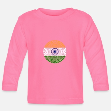 India India INDIA Love Heart Mandala - T-shirt