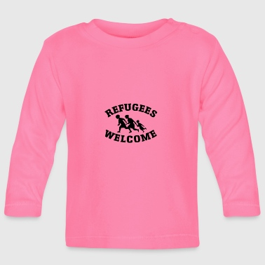 Welcome refugees - Baby Long Sleeve T-Shirt