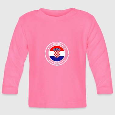 MOJ GRAD PAZIN - Baby Long Sleeve T-Shirt
