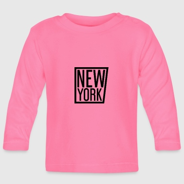 new York - Baby Long Sleeve T-Shirt