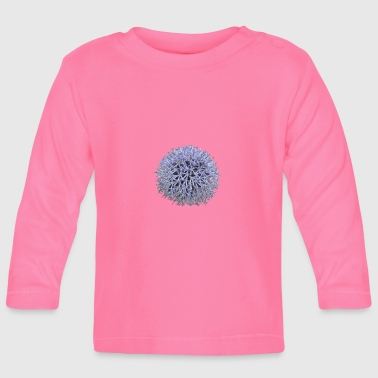 Lilac Large lilac flower - Baby Long Sleeve T-Shirt