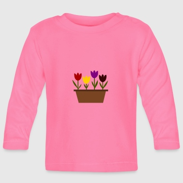 plant pot - Baby Long Sleeve T-Shirt