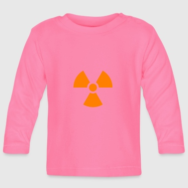Nuclear sign - Baby Long Sleeve T-Shirt