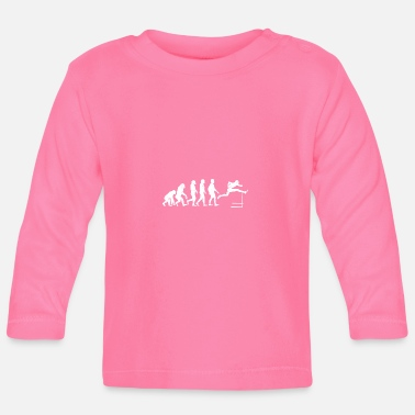Hurdles Hurdles Evolution hurdle gift athletics - Baby Long Sleeve T-Shirt