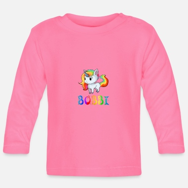 Bobby Unicorn Bobbi - Baby Long Sleeve T-Shirt