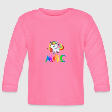 Mac Unicorn Mac - Baby Long Sleeve T-Shirt