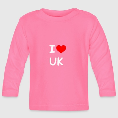 Uk I love UK UK - Baby Long Sleeve T-Shirt