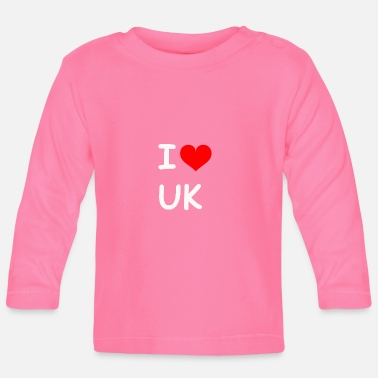Uk I love UK UK - Baby Longsleeve Shirt