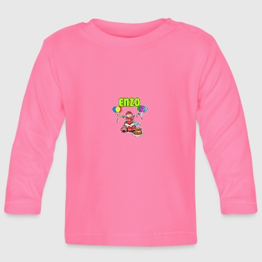 Fire Department Enzo Gift - Baby Long Sleeve T-Shirt