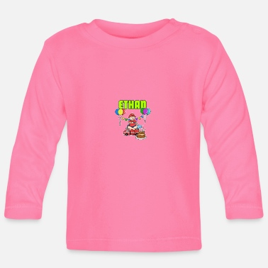 Ethan Fire Department Ethan Gift - Baby Long Sleeve T-Shirt
