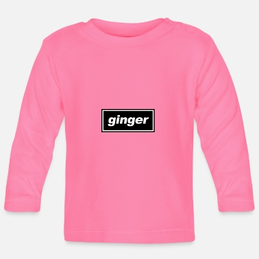 Ginger Britpop ginger - Baby Long Sleeve T-Shirt