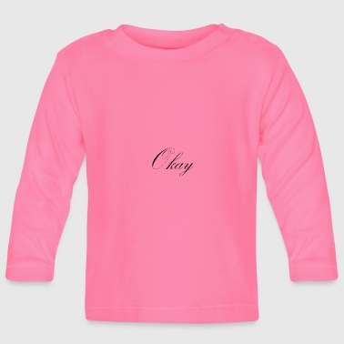 OK - Baby Long Sleeve T-Shirt