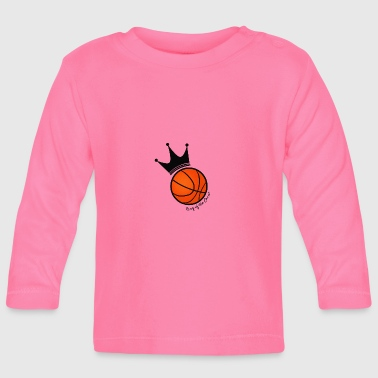 King of the court basketball - Baby Long Sleeve T-Shirt