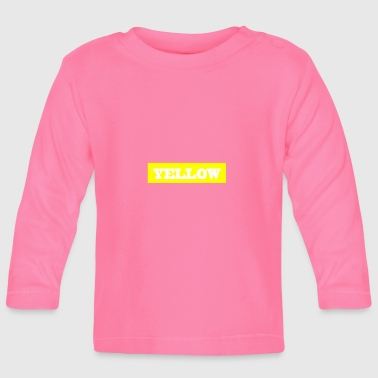 Yellow - Baby Long Sleeve T-Shirt