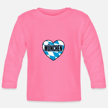 Munich city gift - Baby Longsleeve Shirt
