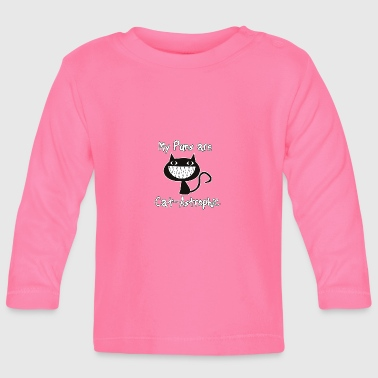 Cats puns - Baby Long Sleeve T-Shirt