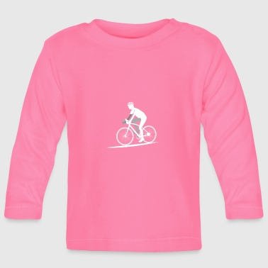 Road Bike Cycling Gift Idea Bike Bike Cool - Camiseta manga larga bebé