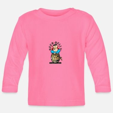 Belly Beer Belly - Baby Long Sleeve T-Shirt
