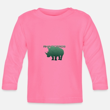 Rhinoceros rhinoceros - Baby Long Sleeve T-Shirt