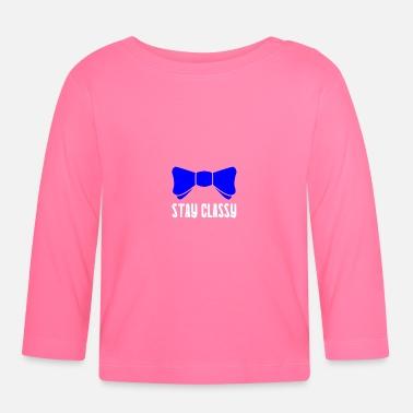 907b186b3d854 Nœud Papillon Nœud papillon classique - T-shirt manches longues Bébé
