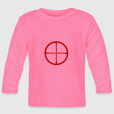 Sniper rifle crosshair rifle scope gift - Baby Long Sleeve T-Shirt