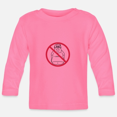 Clip Art No Shield No Man Fat Dick Clip Art Comic - Baby Long Sleeve T-Shirt