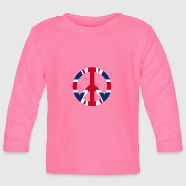 Uk Peace sign icon UK UK - Baby Long Sleeve T-Shirt