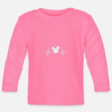 Squirrel Squirrel Pulse Rodent Rodent Sweet Gift - Baby Long Sleeve T-Shirt