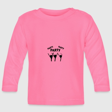 Party Party Party - Baby Langarmshirt