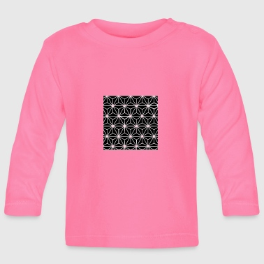 Quadrat Tetrahedron 4 - Baby Long Sleeve T-Shirt