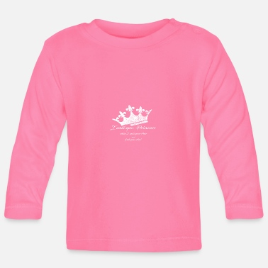 Crown - I call you Princess - Baby Longsleeve Shirt