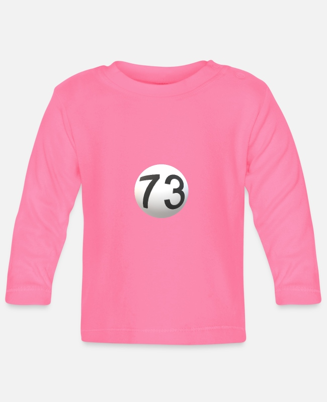 Big Bang Baby Long-Sleeved Shirts - Ball with 73 - Baby Longsleeve Shirt azalea