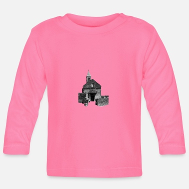 Romanesque Taize village church - Baby Longsleeve Shirt