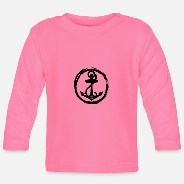 Sea Sea - anchor anchor - sea - sea - Baby Longsleeve Shirt